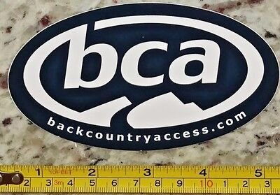 "5"" Back Country Access BCA Sticker Ski Snowboard Decal Avalanche Backcountry"