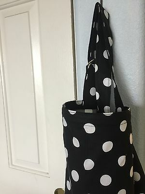 Sale NURSING COVER  hider* BREASTFEEDING COVER Bold Dots B W