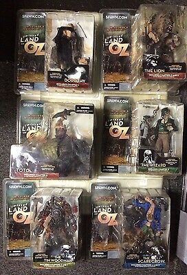 McFARLANE'S MONSTERS SERIES TWO TWISTED LAND OF OZ (6) FIGURE COMPLETE SET MIP
