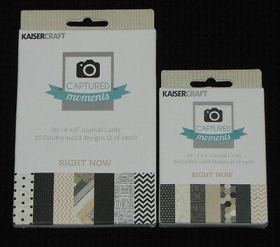 Kaisercraft Captured Moments 'RIGHT NOW' Document (You choose size) KAISER 1left