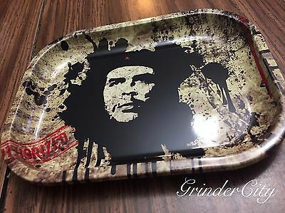 New Authorized Paint Splatter 7 X 5 1/2 Rolling Cigarettes Herb Tobacco Tray