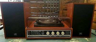 His Masters Voice 8+8 turntable with original speakers.
