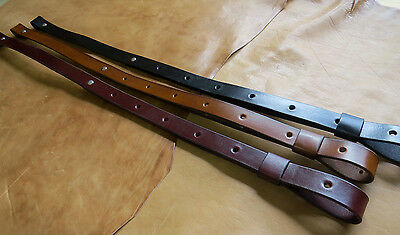 "1"" inch wide Leather Rifle Gun Sling - COCHISE"