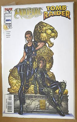 Witchblade/Tomb Raider #1 (Top Cow Crossover, 1) Comic 1998