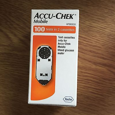 Accu - Chek Mobile Cassette 100 Tests 50x2