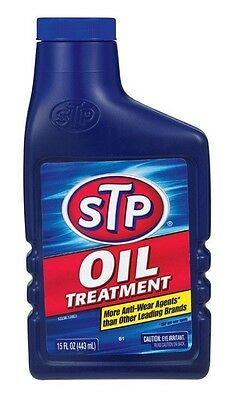 Stp Oil Treatment 15 Oz. Fights Motor Oil, Reduces Engine Wear , Engine Deposits