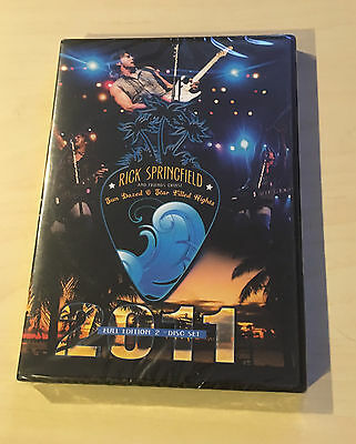 Factory sealed RICK SPRINGFIELD & FRIENDS CRUISE 2011 2-DVD SET Jack Wagner Zoot