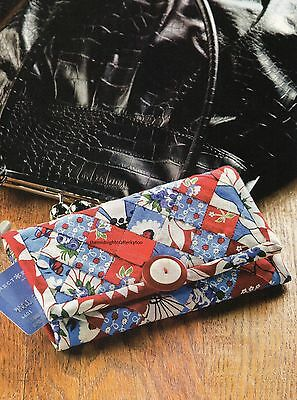 Three Times The Charm Wallet Quilt Pattern Pieced CZ