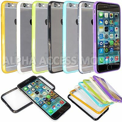 15 Ultra-Thin Bumper Skin Hybrid Case Cover Wholesale Lot For Apple iPhone 6 6S