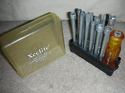 Xcelite 99PS50 Screwdriver/Nut Driver Complete Set, 13 Piece USA made VERY NICE