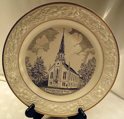 Evangelical Lutheran Church in Greencastle, Pennsylvania Collector's Plate