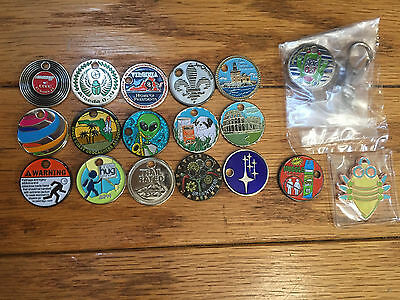 Geocaching Trackables, Pathtags, Uv Light, Extraterrestrial Highway Lot