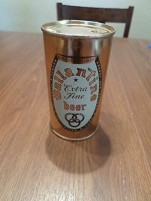 Vintage Super Clean Ballantine Extra Fine Newark New Jersey Flat Top Beer Can