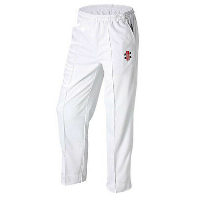 Gray-Nicolls Elite White Cricket Trousers Pants Senior Size S, M, L, XL, 2XL 3XL