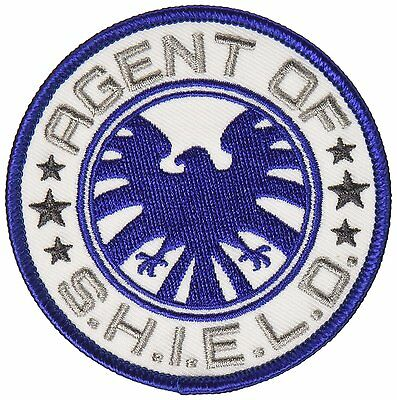 "Avengers Classic Agent of S.H.I.E.L.D. Iron On Patch 3"" Free Ship Licensed"