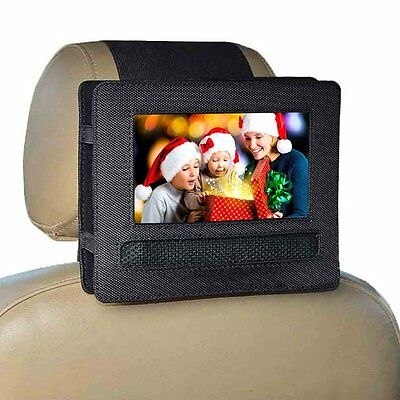 Car Headrest Mount Holder for Voyager VYCDVD7-PNK / VYCDVD7-BLK and other 7 inch