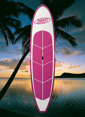 SUP Stand Up Paddle Board + bag + leash + paddle Pink Frangipani NEW package!!!