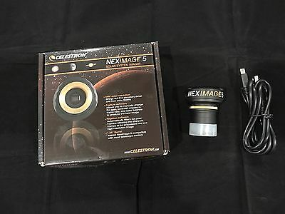 Celestron NexImage 5 MP Telescope Camera