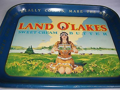Land O' Lakes Sweet Cream Butter Tin Tray