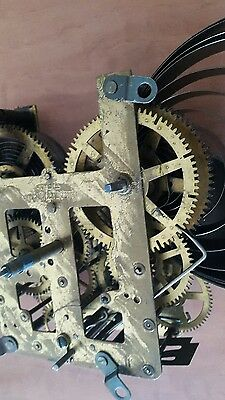 eight day clock parts