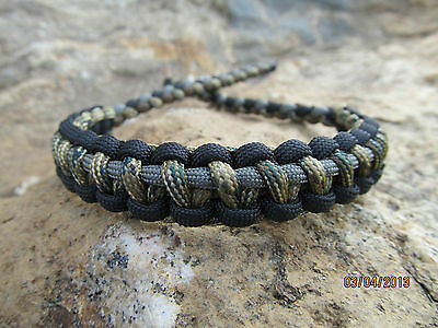 Bow Wrist Sling Made Of 550 Military Grade Paracord