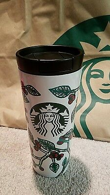 New Starbucks® 2016 Coffee Stainless Steel Tumbler 16oz Ltd Edition Mug Cup