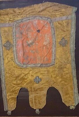 Antique Russian Ecclesiastically Banners of Gold Embroidery, Gold Thread 19th c.