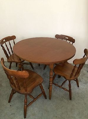 Matching Table and Chairs
