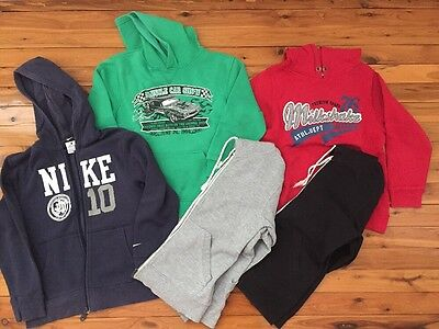 5 Boys Jumpers Jackets Size 8
