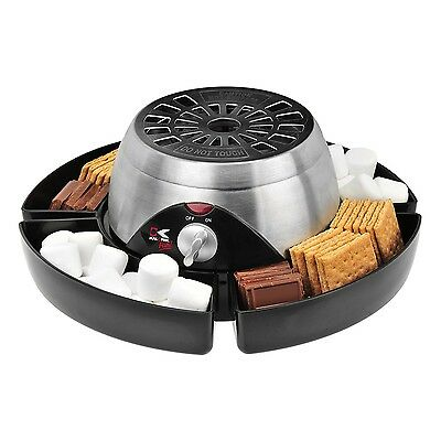 New Kalorik Electric S'Mores Maker Stainless Steel Smores Machine