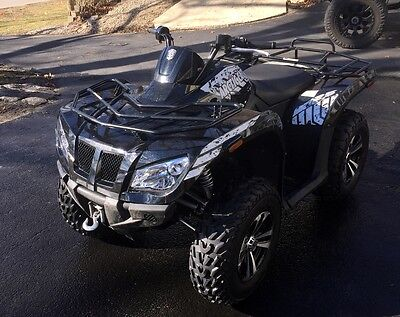 2012 Arctic Cat 425 Special Edition EFI 4x4 ATV - Plow/Winch/Cabin - Low Miles!