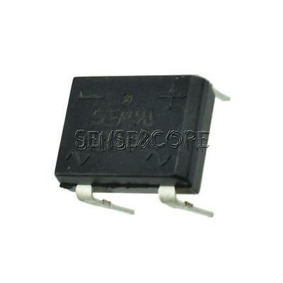 10Stks DB107 DIP4 Single Phase 1A Glass Passivated Bridge Rectifiers Diode