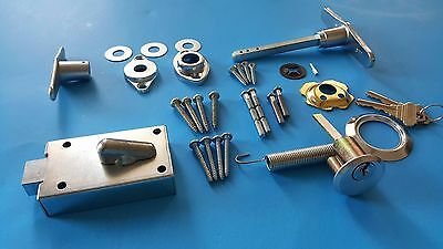 Garage Door Lock Cylinder & T- Handle Kit ~ FREE SHIPPING