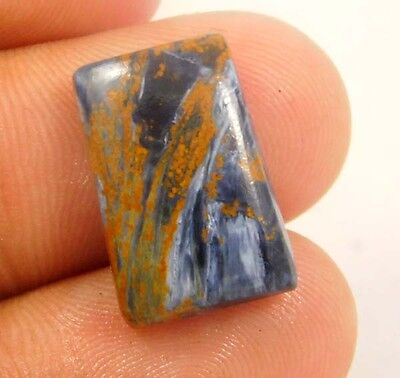 8.1cts Nice 100% Natural Designer Pietersite Fancy 17x11 Loose Cabochon Gemstone