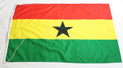 GHANA NATIONAL FLAG OF GHANA LARGE SIZE: 37 X 57 Inches L103