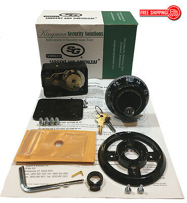 S&G - Sargent and Greenleaf 6730 Group 2 Key Locking Dial & Lock Kit -NIB