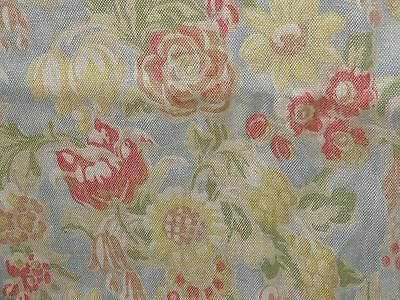 """ZOFFANY """"ANTIBES"""" DUCKEGG 11.5 metres curtain fabric bundle CLEARANCE"""