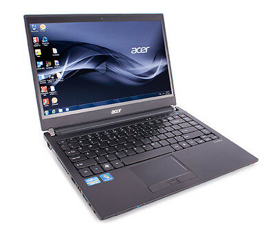 """Acer Travelmate 8481 14.1"""" INTEL CORE I5 2nd GEN 1.6GHz 8GB RAM 320GB HDD Win 10"""