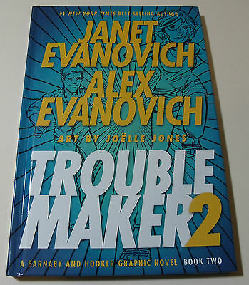 Troublemaker 2: A Barnaby and Hooker Graphic Novel Comic BOOK Janet Evanovich