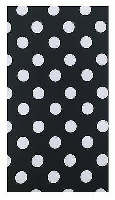 Polka Dot Cotton Check Holder Waitstaff Organizer Restaurant Server Book