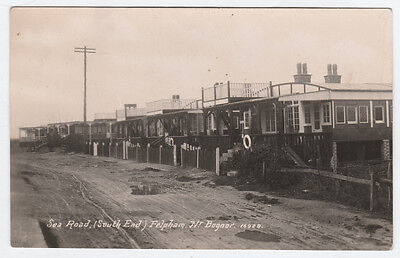 FELPHAM WEST SUSSEX ~ SEA ROAD RAILWAY CARRIAGE BUNGALOWS ~ 1920's