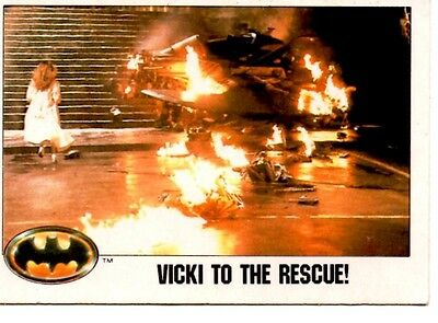 Batman Trading Card 110 (Vicki to the rescue)