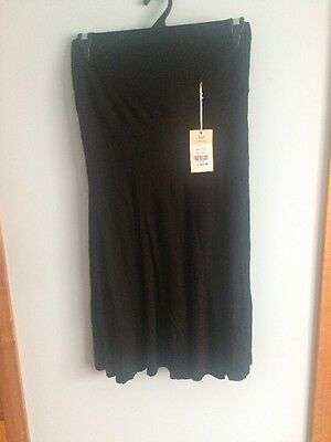 Angel Maternity Skirt Size L Black