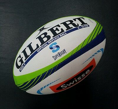 Gilbert Official Super Rugby Full Size 5 Replica Rugby Union Football Ball *NEW*