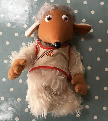 """THE WOMBLES - Tomsk Womble - Soft toy/Plush - First Love - 11""""/28cm"""