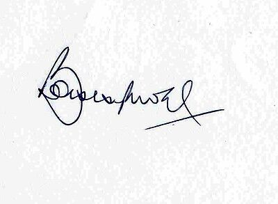 Bobby Moore Genuine Authentic Autograph Signed Album Page Aftal