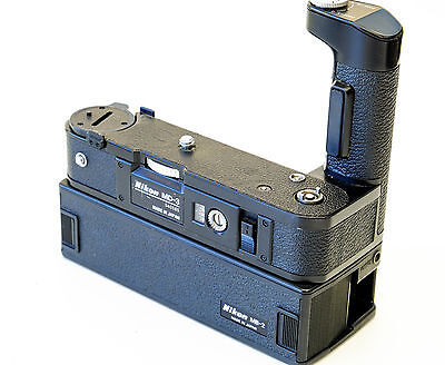 Nikon MD-3 Motor Drive + MB-1 Battery Pack for Nikon F2