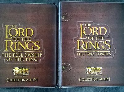 LORD OF THE RINGS ACTION FLIPZ SET & COLLECTION ALBUMS x 2