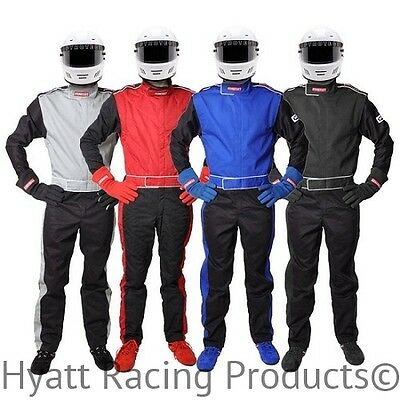 Pyrotect Sportsman Deluxe 1-Piece Auto Racing Fire Suit - SFI 1