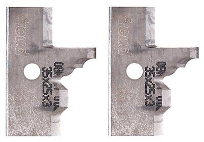 Freud RS-I Profile Knives For Freud RS1000 Or RS2000 Rail And Stile Insert